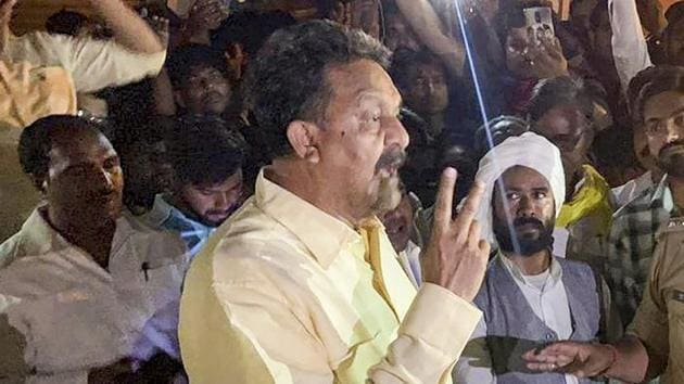 Bahujan Samaj Party's Afzal Ansari won the Ghazipur Lok Sabha seat, one of the four parliamentary seats in eastern UP that the BSP wrested from the BJP in the 2019 LS polls.(PTI)