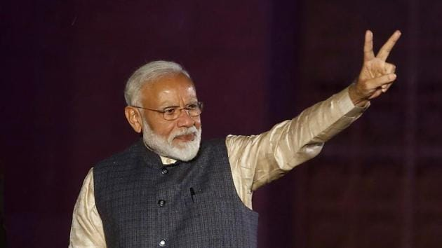 The victory, Modi said, belonged to the toiling farmers who struggle to feed the nation, the poor who do not have proper houses to live in and the middle class that follows rules and pays taxes.(REUTERS)