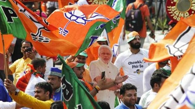 The Bharatiya Janata Party (BJP) made big inroads into West Bengal's western and northern parts, two relatively under-developed areas of the state.(ANI)