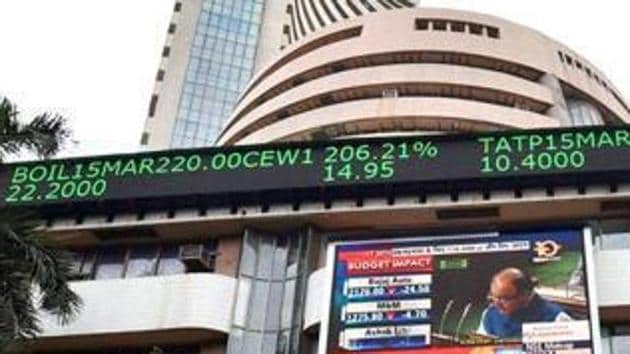 The BSE Sensex rallied over 400 points in early trade after Prime Minister Narendra Modi got an absolute majority in the Lok Sabha elections.(PTI File Photo)
