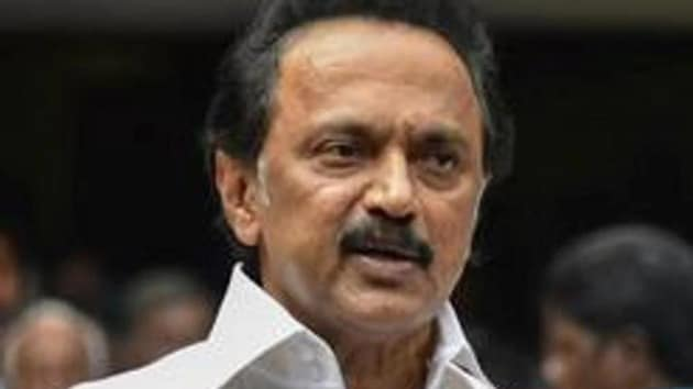 """""""DMK principal secretary TR Baalu will serve as the party parliamentary committee leader,"""" a DMK statement read.(HT Photo)"""