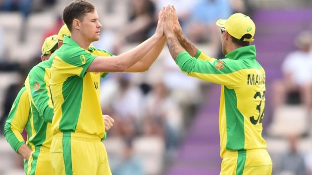 Catch all the highlights from the ICC World Cup 2019 practice match between England and Australia at the Rose Bowl in Southampton.(AFP)