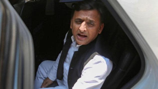 Samajwadi Party President Akhilesh Yadav(PTI file photo)