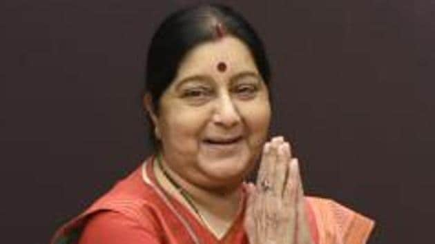 External Affairs Minister Sushma Swaraj on Sunday sought a report over the reported denial of visa extension to a German Padma Shri awardee who has threatened to return her award over the issue.(HT File Photo)