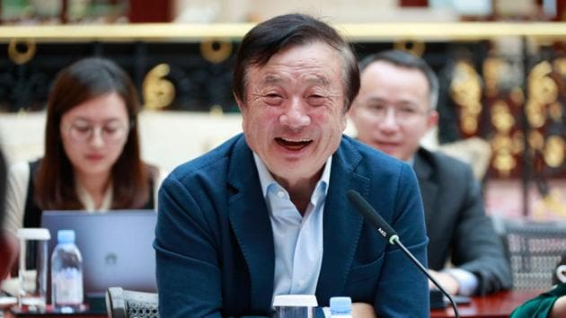 Huawei CEO Ren Zhengfei has stressed that the US campaign against the company would not be powerful enough to call on everyone to follow them.(AFP File Photo)