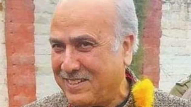 Addressing NC workers in Anantnag town Newly-elected MP Justice (Retired) Hasnain Masoodi of the National Conference (NC)demanded immediate release of the youths without any blemish on their career so that they can rejoin the educational institutions(Twitter/@masoodi_hasnain)