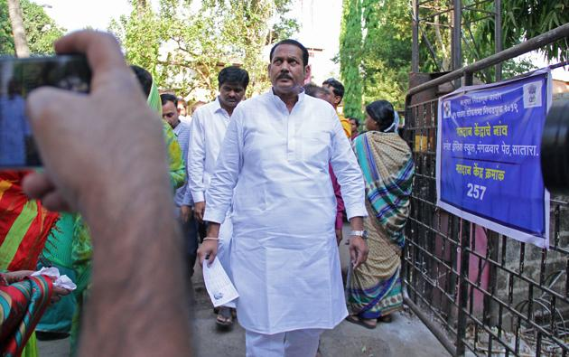 Nationalist Congress Party's Satara MP Udayanaraje Bhosale (the 13th direct descendant of King Shivaji) is the richest, with assets worth ₹199 crore(HT Photo)