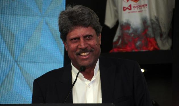 Cricketer Kapil Dev says 83 is not just about him, the film shows the journey of a team.(Shivam Saxena/HT)