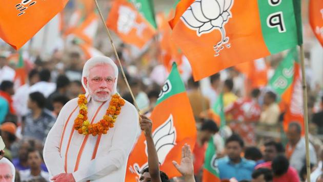 Among the first timers, most are from Uttar Pradesh (20) where the BJP won 62 of the 80 seats.(Bloomberg File Photo)