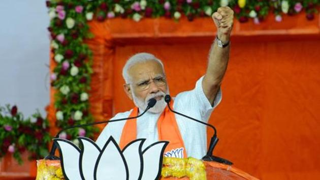 Narendra Modi managed to create history by becoming India's first reformist prime minister to be voted back to power, and that too, with a bigger mandate(AFP)