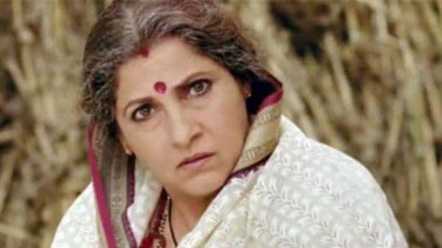 Dimple Kapadia as Naini Devi in Dabangg, she will now be seen in Dabangg 3.