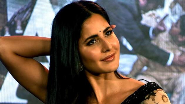 Katrina Kaif at one of the promotional events of her upcoming Hindi film Bharat in Mumbai on May 17, 2019.(AFP)