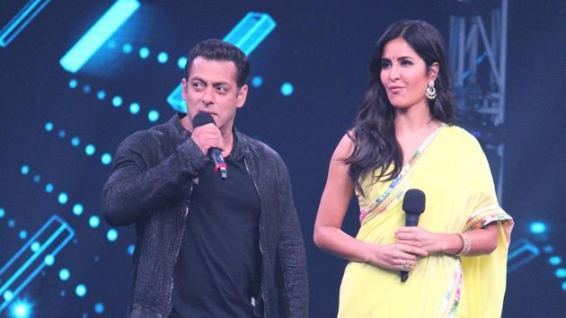 Salman Khan and Katrina Kaif are promoting Bharat and visiting sets of TV shows.(IANS)