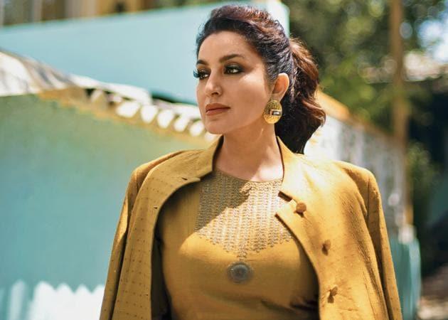 Tisca Chopra (Styling: Aneesa Gandhi and Rochelle D'sa; Make-up: Piyu Palkar; Hair: Shagufta Sayed ; Outfit, Dhruv Singh; jewellery, Eurumme)(Urvi Desale)