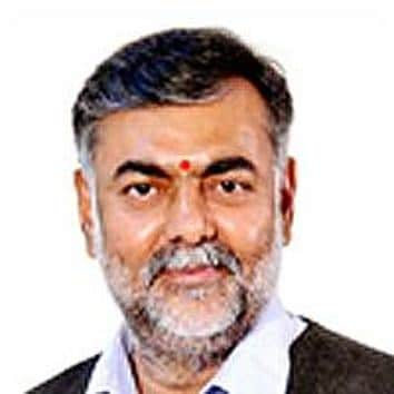 Prahlad Patel began his political career as a student leader and held several posts with the Bharatiya Janata Yuva Morcha, the youth wing of the BJP(HT File Photo)