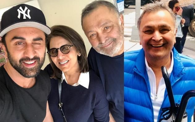 Rishi Kapoor is waiting to return home after completing his cancer treatment.