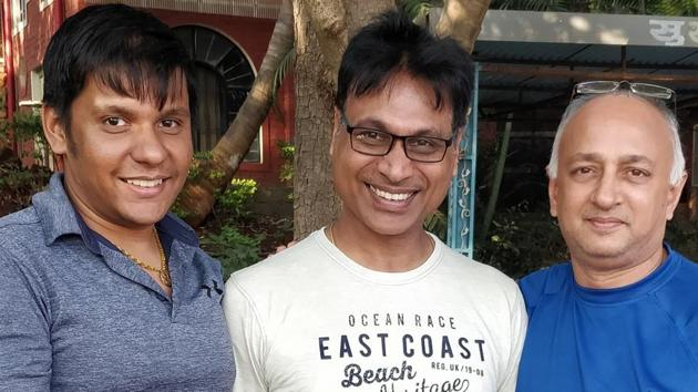 (From left) Prashant Surana, Naresh Jain and Avinash Gupta, co-founders of Snapper Technology. Snapper Technology was established in 2017.(HT/PHOTO)
