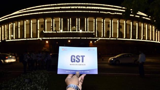 A total of 72.45 lakh GSTR-3B returns were filed in the month of May, higher than 72.13 lakh in April.(Arun Sharma/HT PHOTO)