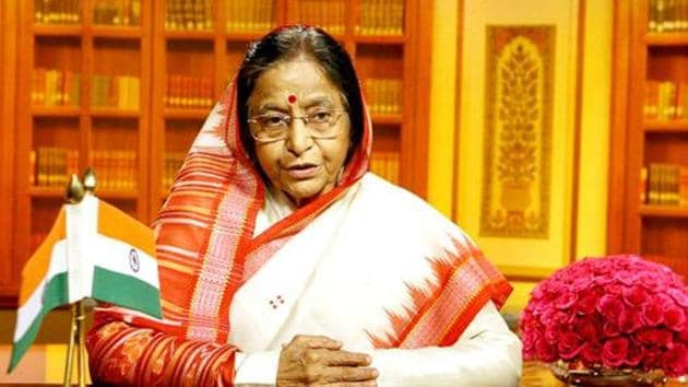 The Ambassador of Mexico to India, Melba Pria, conferred the award on Patil - who created history as this country's first woman President (2007-2012).(HT File photo)