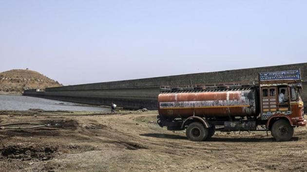 The situation is particularly grim in the Marathwada region of Maharashtra where water level in reservoirs have dipped to an all-time low. (File photo)