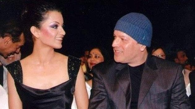 Kangana Ranauty and Aditya Pancholi in a file photo.
