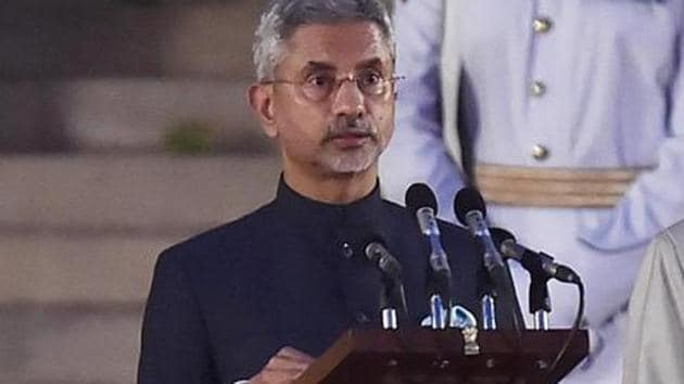 The fact is that Jaishankar knows China and its ways well; he was the longest serving Indian envoy here (2009-2013).(Ajay Aggarwal/HT PHOTO)