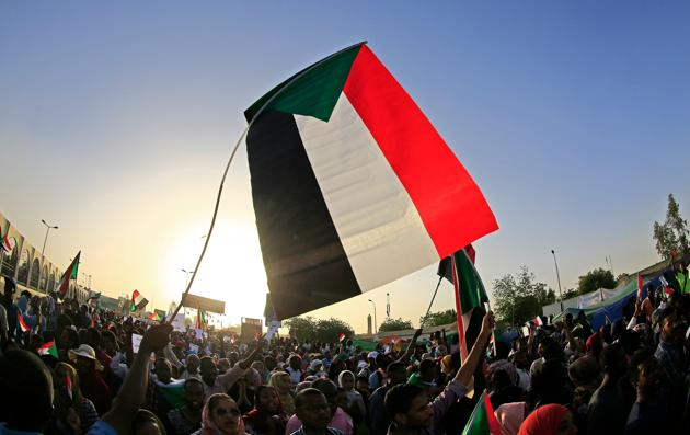 Sudan's military rulers denied trying to break up a protest saying their forces were targeting a site nearby, after nine people had been killed.(AFP File Photo)