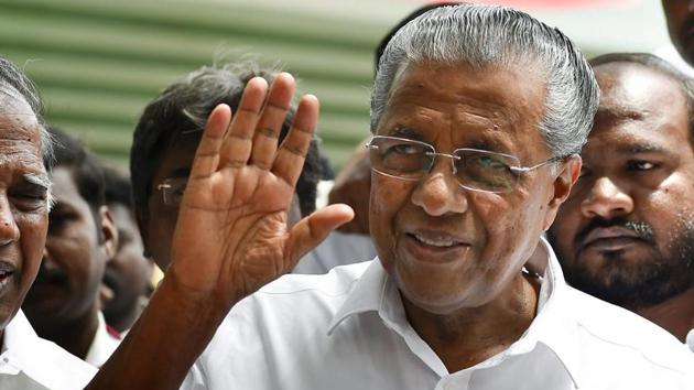 Kerala chief minister Pinarayi Vijayan said on Monday that the Kerala government was taking precautionary actions and closely monitoring the situation after a suspected case of Nipah virus was reported in Kochi.(PTI File Photo)