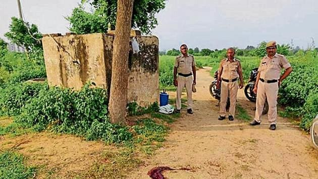 Additional sessions judge AK Bishnoi, on Tuesday, pronounced the sentence for 35-year-old Ravinder alias Kallu, a resident of Badshahpur.(HT Photo)