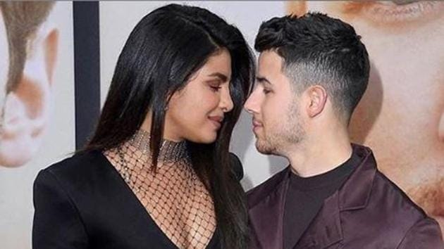 Priyanka Chopra and Nick Jonas shared pictures from the launch of the documentary, Chasing Happiness.(Instagram)