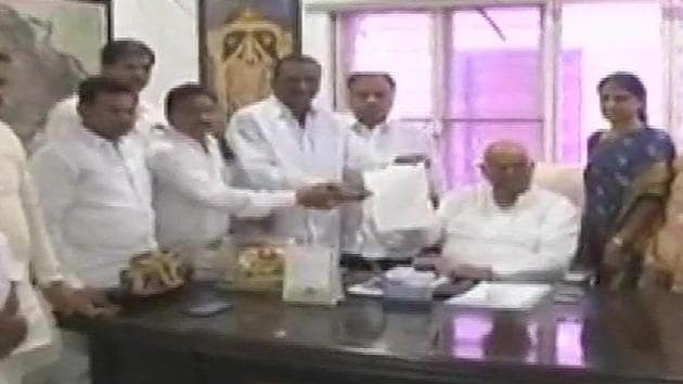 The Congress won 19 seats in the 119-member state assembly in the elections held on December 7. In the subsequent months, 11 MLAs switched over to the TRS one after another, though they officially did not resign from the Congress.