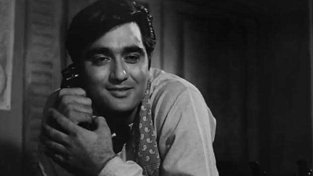 Sunil Dutt in a still from Sujata (1959).