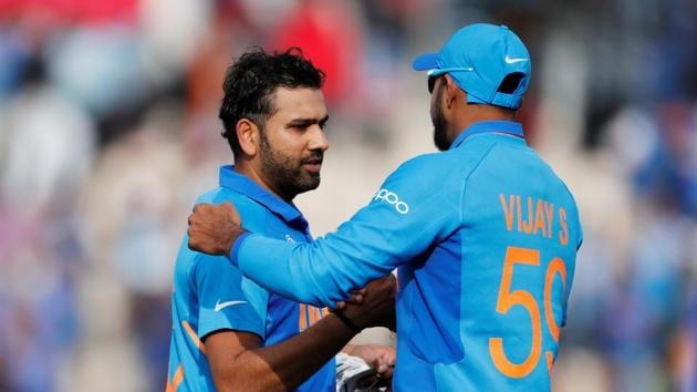 ICC Cricket World Cup - South Africa v India - The Ageas Bowl, Southampton, Britain - June 5, 2019 India's Rohit Sharma celebrates at the end of the match Action Images via Reuters/Paul Childs(Action Images via Reuters)