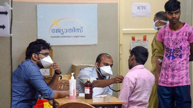 The Aster Medcity Hospital in Kochi, where the patient is admitted, said he is conscious and eating but has mild disorientation.(PTI FILE)