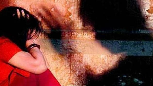 A 19-year-old Dalit woman was gang-raped by five men in front of her husband on April 26 in Thanagazi, Alwar.(HT photo)