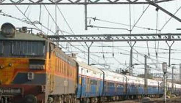 For the first time in the history of Indian Railways, massage services will be made available for passengers on board running trains.(HT Photo)