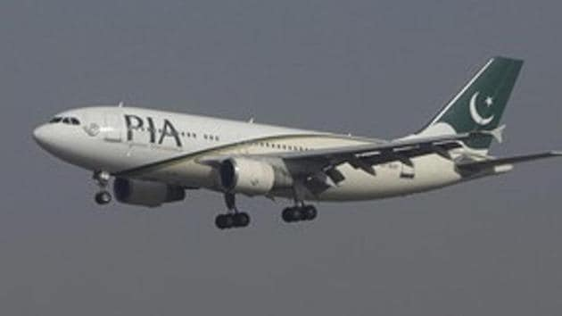 A woman passenger, aboard a Pakistan International Airlines (PIA) flight, sparked panic after she mistakenly opened the emergency exit door of the aircraft thinking it was the toilet.(Reuters File Photo)