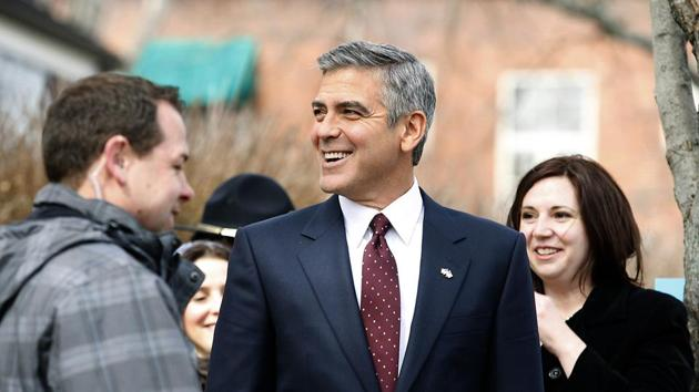 Actor George Clooney poses for photographers on arrival at the premiere of the television mini-series Catch22, in London, Wednesday, May 15.(AP)