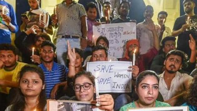 Chairperson of Delhi Commission for Women DC) wrote to PM Modi demanding death sentence for the accused in the rape case.(PTI File Photo)
