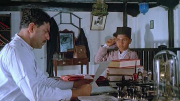 Girish Karnad in a still from Malgudi Days. The actor-playwright died in Bengaluru on Monday.