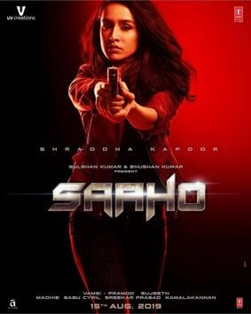 Shraddha Kapoor's new Saaho poster is out now.
