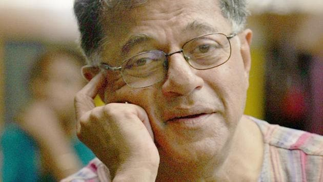 Girish Karnad has died at the age of 81.(HT Photo)