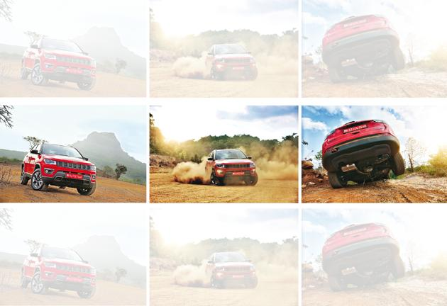 The Trailhawk comes with a dedicated 'Rock' mode, which lets you tackle rocks