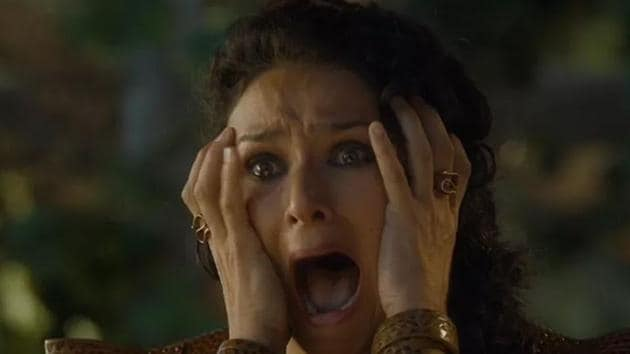 Indira Varma in a scene from HBO's Game of Thrones.