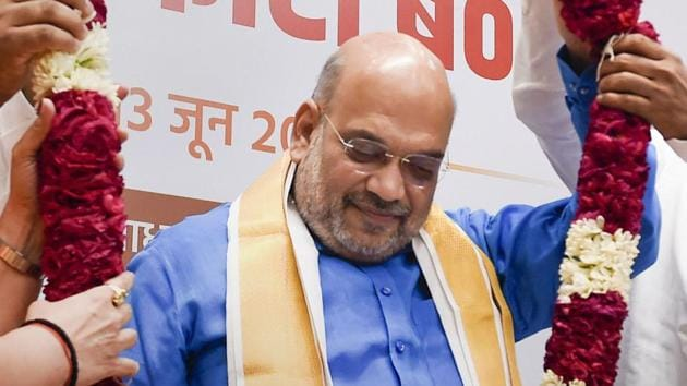 Shah will also meet party General Secretaries (Organization) of various states on Friday.(PTI Photo)
