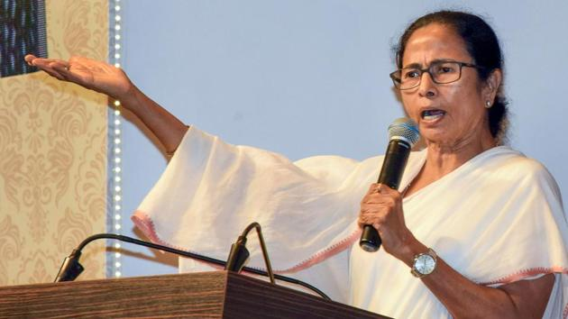 West Bengal Chief Minister Mamata Banerjee Thursday accused the striking junior doctors of the city's SSKM Hospital of verbally abusing her during her visit there.(PTI)