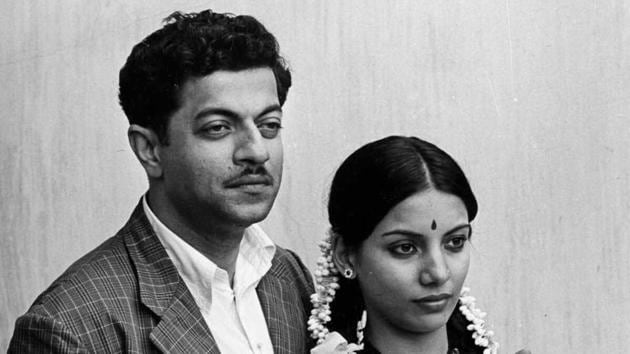 Girish Karnad and Shabana Azmi in a still from Nishant.
