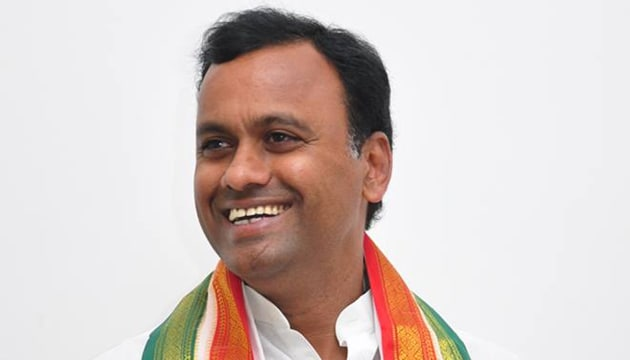 Congress party received another jolt on Saturday when a legislator Komatireddy Raj Gopal Reddy hinted that he may join the BJP. (Komatireddy Rajagopal Reddy, Facebook)