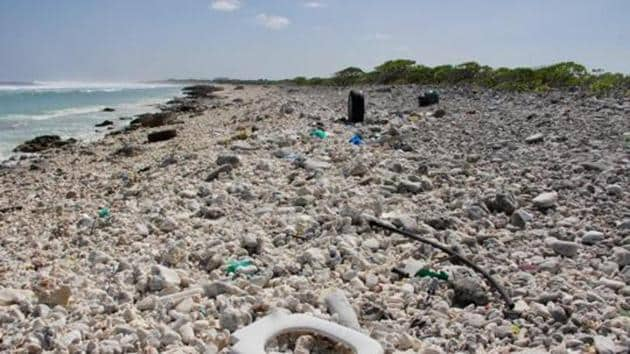 "The new framework is aimed at facilitating further concrete action on marine waste after the G20 Hamburg Summit in Germany adopted the ""G20 action plan on marine litter"" in 2017.(AFP Photo)"