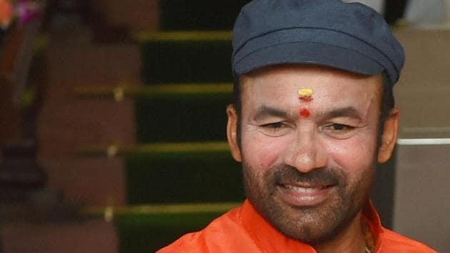 Analysts say the appointment of G Kishan Reddy as Union minister of state for home is part of a plan to lure Congress leaders in Telangana into joining the BJP.(PTI)